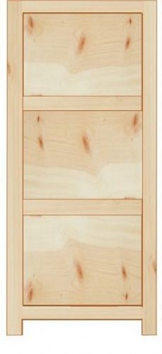 Rustic Farmhouse 300mm Base Cabinet with 3 drawers
